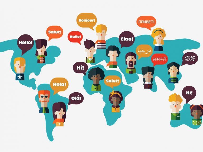 اللغات حول العالم وتنوعها