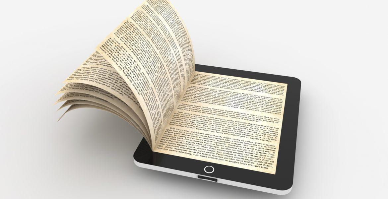 الكتب الورقية والالكترونية